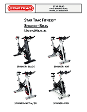Star Trac Spinner NXT Manuals