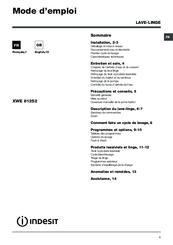 Indesit XWE 91483 Manuals