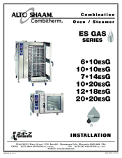 Alto-shaam COMBITOUCH SERIES 20•20ESG Manuals