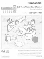 Panasonic SC-HT65 Manuals