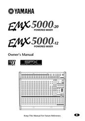 Yamaha EMX 5000-12 Manuals