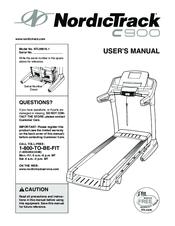 Nordictrack C900 Pro Manuals