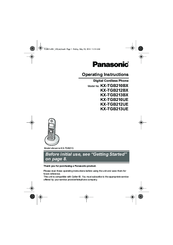Panasonic KX-TGB210BX Manuals