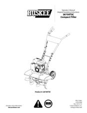Huskee 26750TSC Manuals
