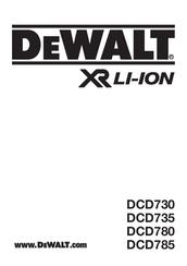 Dewalt DCD780 Manuals