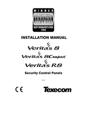 Texecom Veritas 8 Manuals