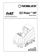 Nobles EZ Rider HP Manuals