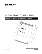 Siemens FIREFINDER-XLS Manuals