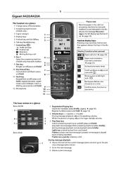 Gigaset A420A Manuals