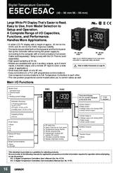 Omron E5AC Manuals