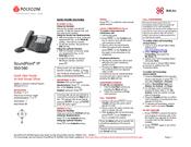 Polycom SoundPoint IP 550 Manuals