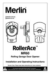 Merlin RollerAce MR60 Manuals