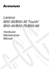 Lenovo B50-30 Manuals
