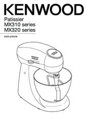 Kenwood MX320 series Manuals