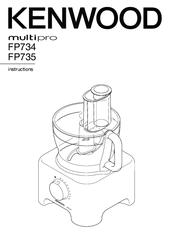Kenwood MultiPro FP735 Manuals