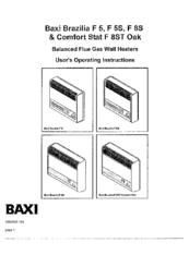 Baxi Brazilia F5 Manuals