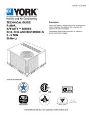 York Affinity BHZ060 Manuals