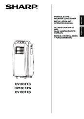 Sharp CV10CTXW Manuals
