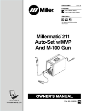 Miller Millermatic 211 Auto-Set Manuals