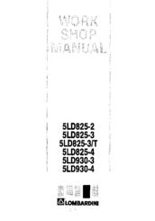 Lombardini 5LD825-2 Manuals