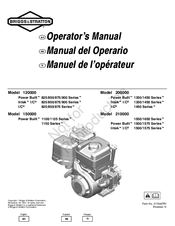 Briggs & Stratton 120000 Manuals