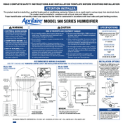 aprilaire 600 manual wiring diagram c bus 500 instructions free for you manuals rh manualslib com humidistat