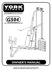York Fitness G504 Manuals
