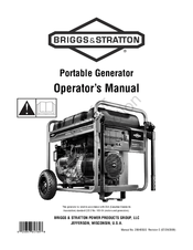 Briggs & Stratton Portable Generator Manuals