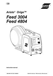 Esab Aristo Origo Feed 4804 Manuals