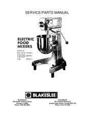 Blakeslee B-20 Manuals
