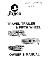 Jayco J-Series 2450 Manuals
