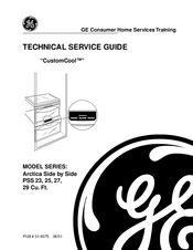 Ge Arctica PSS 29 Series Manuals