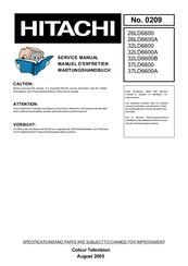 Hitachi 26LD6600 Manuals