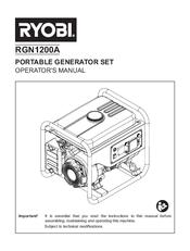 Ryobi RGN2400A Manuals