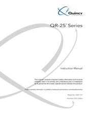 Quincy Compressor QR-25 325 Manuals