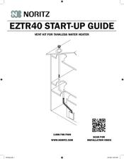 Noritz EZTR40 Manuals