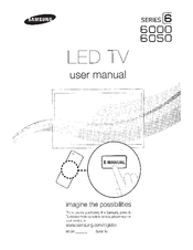 Samsung Smart TV UN60D6000 Manuals