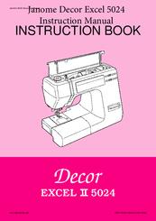 Janome Decor Excel 5018 купить швейные машины по САМЫМ НИЗКИМ