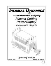 Thermal Dynamics CUTMASTER 151 Manuals
