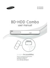 Samsung BD-H8500M Manuals
