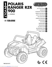 Peg-perego POLARIS RANGER RZR 900 Manuals