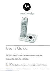 Motorola K702 Manuals