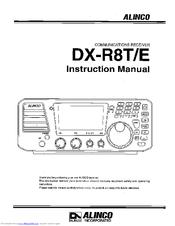 Alinco DX-R8E Manuals