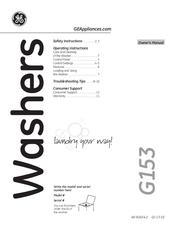 Ge Appliances G153 Manuals