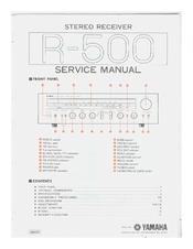 Yamaha R-500 Manuals