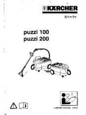 Karcher Puzzi 200 Manuals