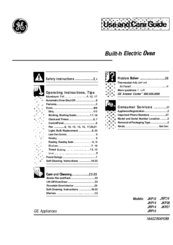 Ge JKP14 Manuals