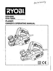 Ryobi EPN-6082 Manuals