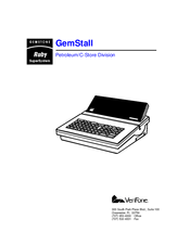 Verifone GemStall Ruby SuperSystem Manuals