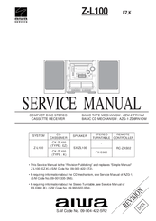 Aiwa CX-ZL100 Manuals